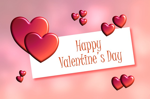 přání na Valentýna