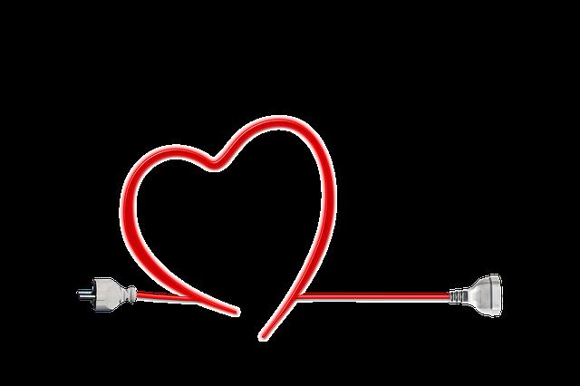 srdce z kabelu