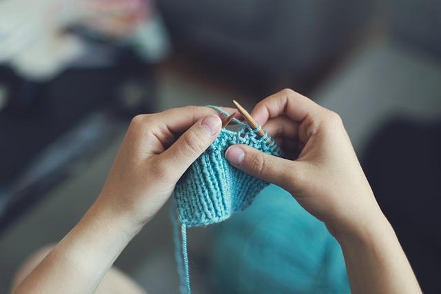 pletení jehlicemi