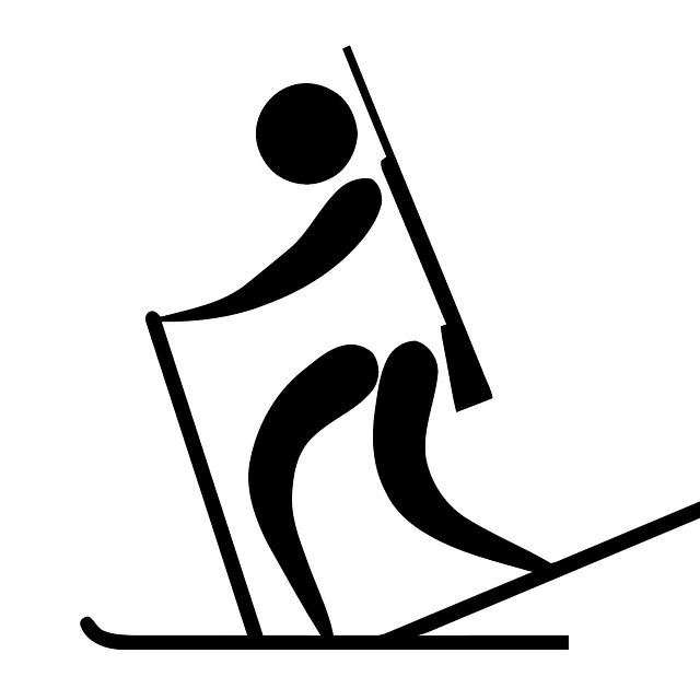 Logo biatlonisty