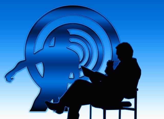 psycholog při práci s klientem