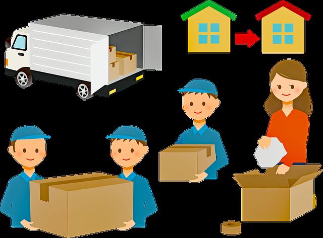 stěhování domu